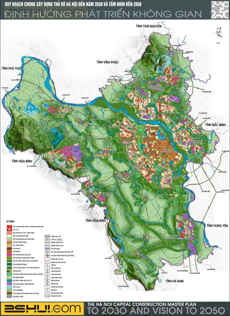 Quy hoach Giao thong Hanoi 2030